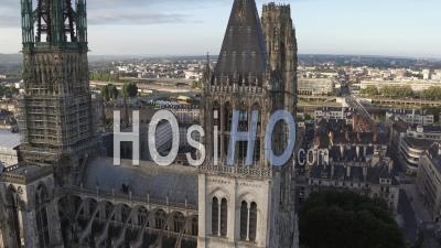 Cathédrale Notre-Dame De Rouen, Vidéo Drone
