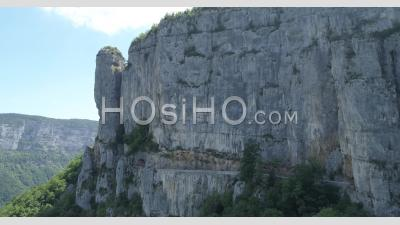 Combe-Laval Of Vercors - Video Drone Footage