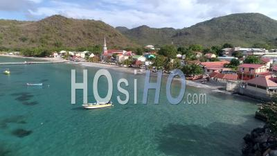 Anses D'arlet In Martinique By Drone - Drone Point Of View