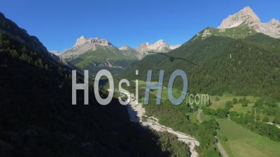 Lus Ski Resort La Jarjatte - Video Drone Footage