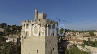 Tour Philippe-Le-Bel, Villeneuve-Lez-Avignon, Vidéo Drone