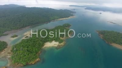 Îles De La Jungle D'isla Del Rey Et De L'île De Cane Au Panama - Vidéo Drone
