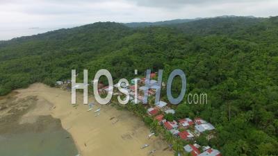 Village D'ensanada Isla Del Rey Panama - Vidéo Drone