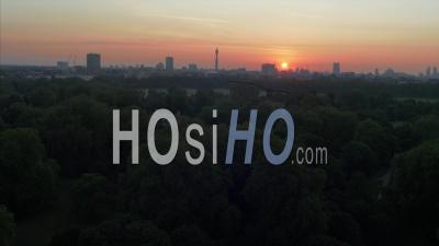 Drone Vidéo Hyde Park. The Royal Parks Avec Vue Sur Speakers Corner London Uk - Vidéo Drone
