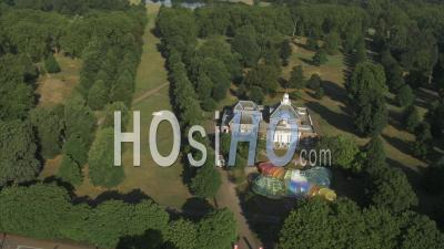 Drone Vidéo Hyde Park Serpentine Gallery Londres Royaume-Uni - Vidéo Drone