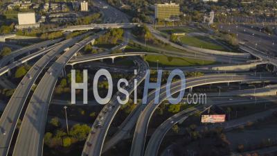 Échangeur D'autoroute Atlanta Géorgie Géorgie - Vidéo Drone