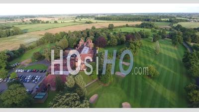 Maison De Campagne à Aldwalk Manor Golf York Campagne Uk - Vidéo Drone