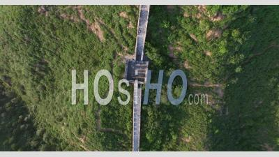 Great Wall Of China Jin Shan Ling - Drone Point Of View
