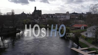Cathédrale Et Ville De Limoges - Vidéo Drone