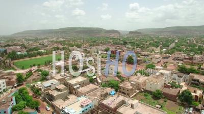 The Eyoub Mosque In Bamako, Video Drone Footage
