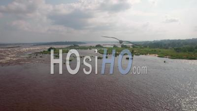 The Congo In Brazzaville, Video Drone Footage