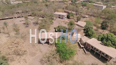 The National Revolutionary Council In Ouagadougou, Video Drone Footage