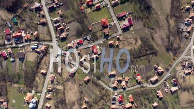 Maisons De Village à Aiton, Roumanie Vidéo Drone