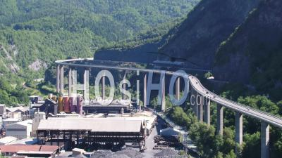 Viaduct Of Egratz, Chamonix - Video Drone Footage