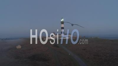 Night At The Creac'h Lighthouse In Ushant