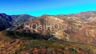 Vue Aérienne De Ojai, Californie – Vidéo Drone