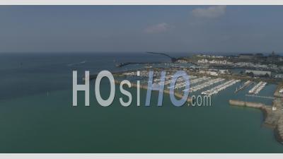 Port De Granville, Manche, France - Vidéo Drone