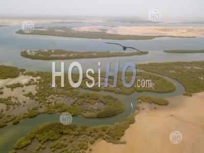Sine Saloum - Vu Par Drone - Photographie Aérienne