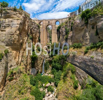 Ronda En Andalousie - Vu Par Drone - Photographie Aérienne