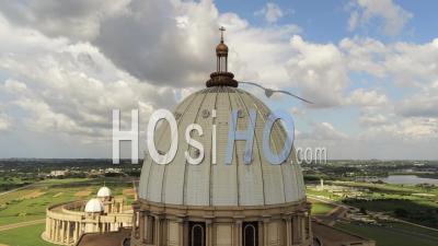 Yamoussoukro Basilica - Video Drone Footage