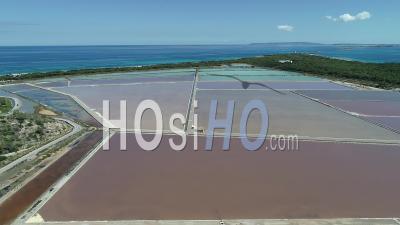 Salt Marsh In Ibiza - Video Drone Footage