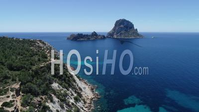 Es Vedra Rock, Ibiza - Drone Point Of View