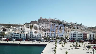City Of Ibiza - Drone Point Of View