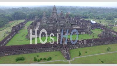 Angkor Wat Temple - Drone Point Of View