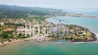 Sao Tome Bay - Video Drone Footage
