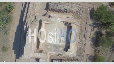 Centre De Cérémonie Pahnu Au Guatemala - Vu Par Drone