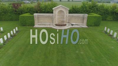 Commonwealth Military Cemetery Of Tilly-Sur-Seulles - Video Drone Footage