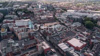 Vue Aérienne De Reading, Berkshire, Royaume-Uni - Vidéo Drone