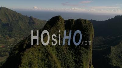 Drone Video Moua Puta French Polynesia