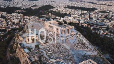 Parthenon, Filmed By Drone