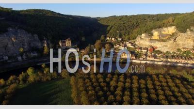 La Roque Gageac Video Drone Footage
