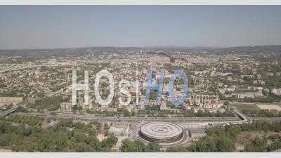 Vue Aérienne De La Ville D'aix-En-Provence - Vidéo Drone