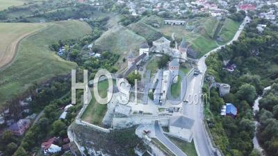 Kamianets Fortress, Ukraine, Vu Par Drone.