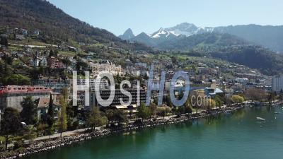 Ville De Montreux Et La Riviera Suisse - Vidéo Drone