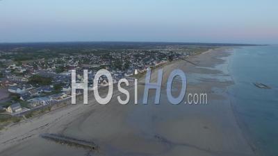 Plage De Pirou - Vidéo Drone