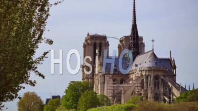 France, Paris, Patrimoine Mondial De L'unesco, Cathédrale Notre-Dame De Paris