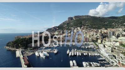 Vue Aérienne Du Port De Monaco - Vu Depuis Un Drone