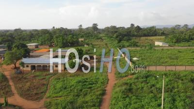 Afrique - Côte D'ivoire - Tabagne – Champs - Vidéo Drone
