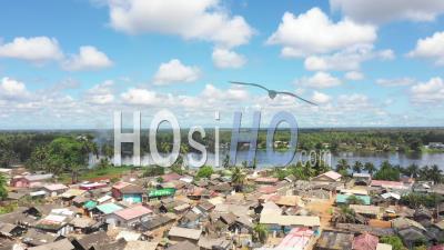 Vue Aérienne Du Lac Assinie, Côte D'ivoire, Afrique - Vidéo Drone