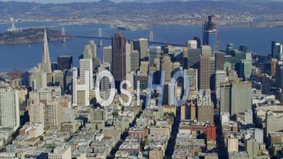 Vue Aérienne Du Centre-Ville De San Francisco