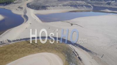 Rivière Huchet Et L'océan - Vidéo Drone
