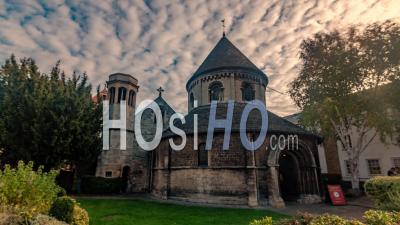 L'église Ronde à Cambridge (angleterre)