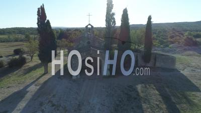 Chapelle Saint-Sixte, Eygalières - Vidéo Drone
