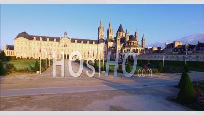 L'abbaye Aux Hommes Vidéo Drone