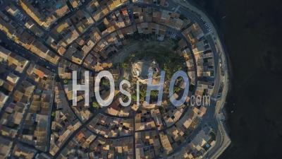 Gruissan Medieval Village - Video Drone Footage