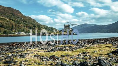Eilean Donan Castle In North Highlands Of Scotland